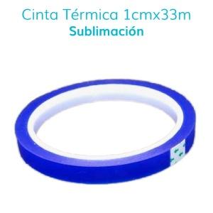 Cinta Térmica para Sublimación (33mts x 6mm)