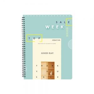 Cuadernola A4 tapa plástica  *