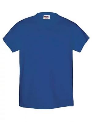 Camiseta Azul Francia 100% Algodón Talle XL