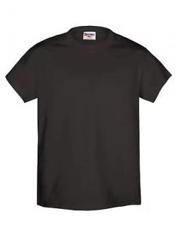 Camiseta Negra 100% Algodón Talle S