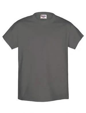 Camiseta Gris Topo 100% Algodón Talle S