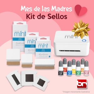 KIT SELLOS MINT ♥DÍA DE LA MADRE♥