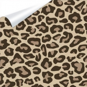 Vinilo Textil EasyPatterns Leopard Tan