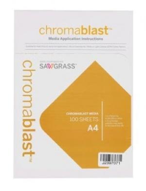 PAPEL A4 CHROMABLAST P/ Subli Algodón