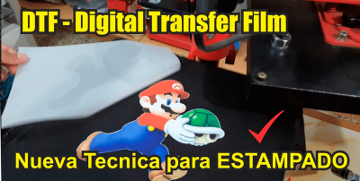 DTF  (Direct Transfer Film) ....En breve!